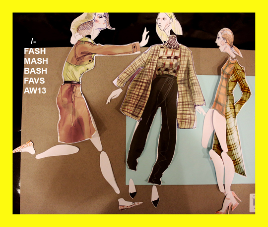 DAKS V BURBERRY V EMILIA WICKSTEAD 1 BY SLASHSTROKE