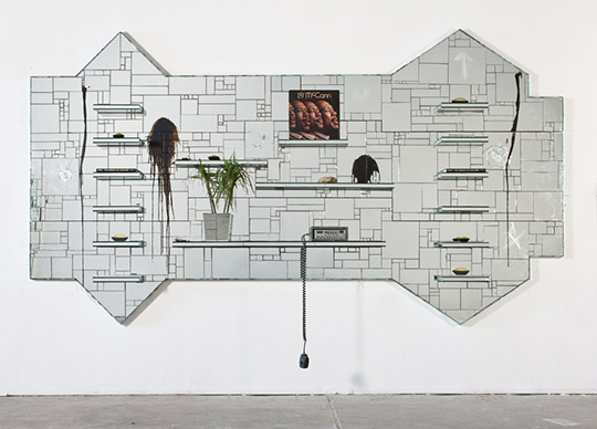 Rashid Johnson: The Moment of Creation, 2011. Paul and Linda Gotskind Collection, Chicago. Image courtesy of the artist and David Kordansky Gallery, Los Angeles, CA