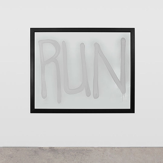 Rashid Johnson: Run, 2008. Collection of Nancy Delman Portnoy, New York. Photo by Martin Parsekian, courtesy of the artist.