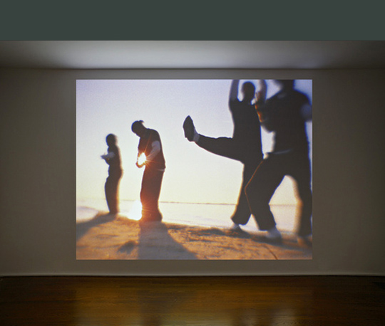 "Still from ""The New Black Yoga"", 2011. © 2013 Hauser & Wirth. Image courtesy of the artist."