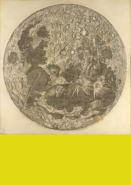 Carte de Lune by Giovanni Domenico Cassini