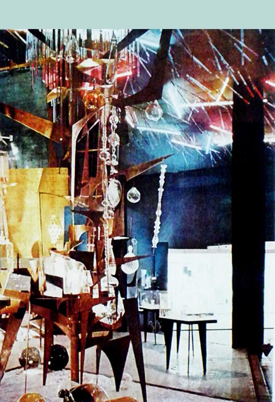 René Roubí?ek Tree of the Czechoslovak Glass Industry, the Czechoslovak Glass Exhibition, 1959 Moscow