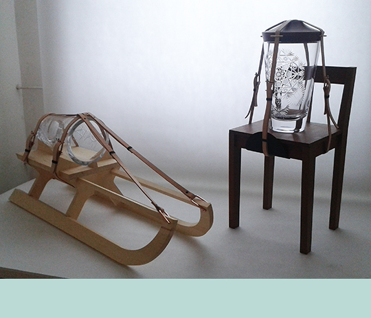 Tadeáš Podracký, JAARS created with Moser glassworks, Designblok '13 (Photograph: author's own)